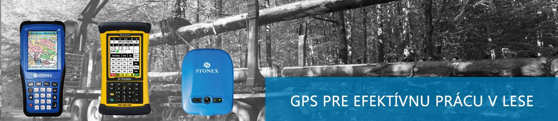 GPS pre efektívnu prácu v lese