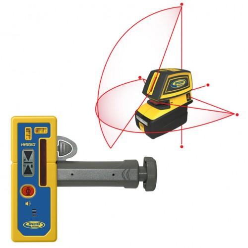 Bodový a krížový laser LT52 s prijímačom HR220