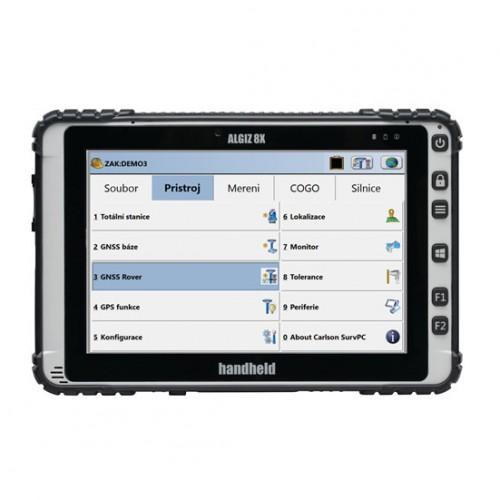 Kontrolná jednotka Handheld Algiz 8X, Win 10 so SurvPC v5