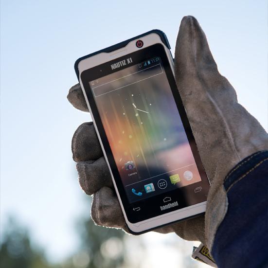 Handheld Nautiz X1, Android 4.0