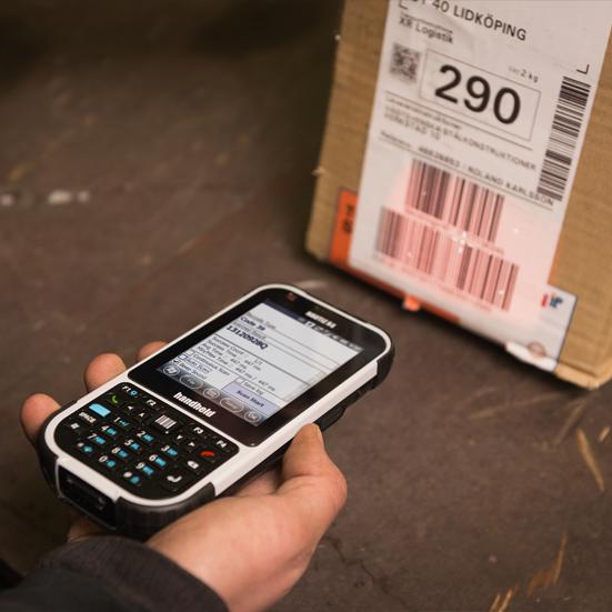 Handheld Nautiz X4, WEH 6.5