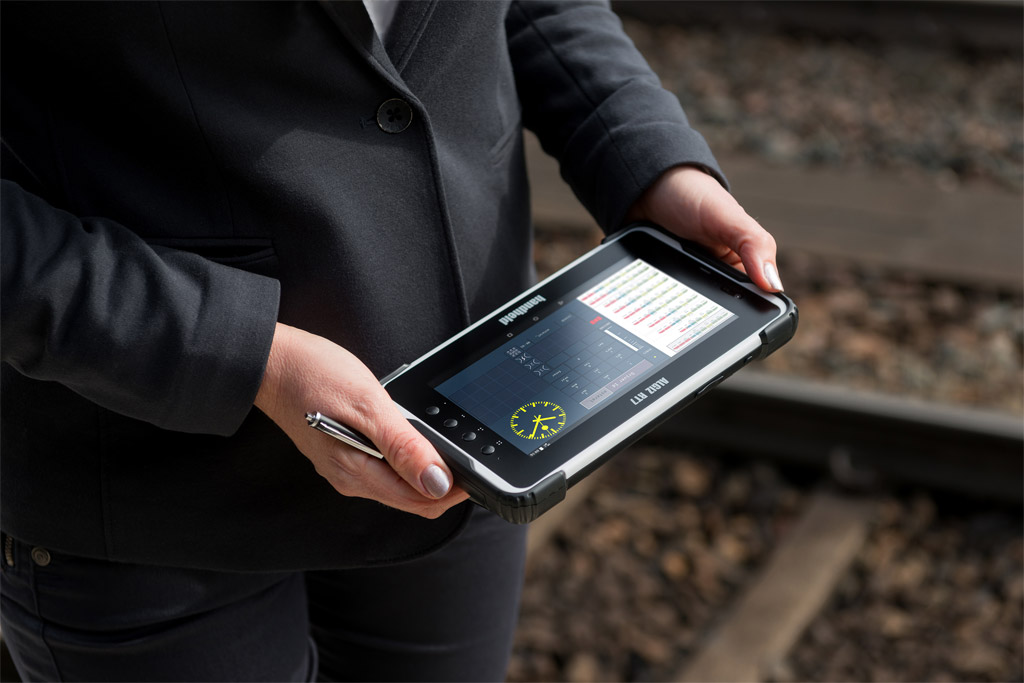 Handheld Algiz RT7 eTicket, Android 6.0