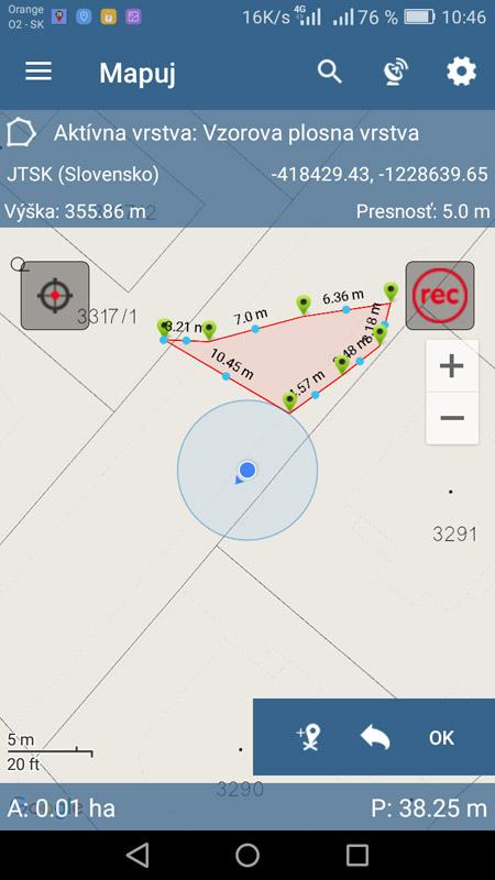 Mapuj - mobilný zber dát