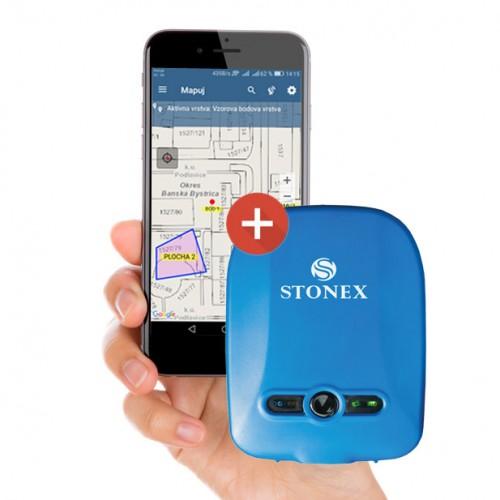 Stonex S5 + GIS aplikácia Mapuj