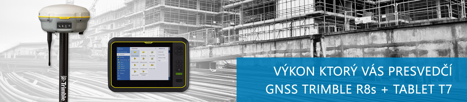 GNSS Trimble R8S + tablet T7