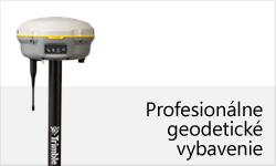 Profesionálne geodetické vybavenie