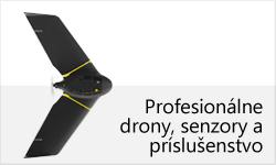 Profesionálne drony, senzory a príslušenstvo