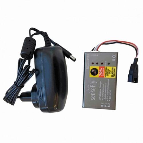 Nabíjačka batérií pre senseFly eBee pre skladovanie batérii