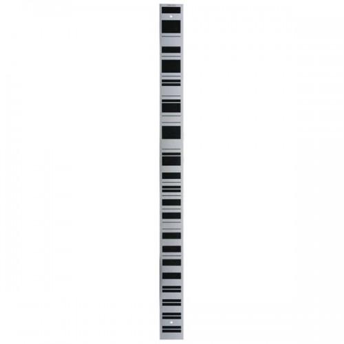 Hliníková nivelačná lata s čiarovým kódom