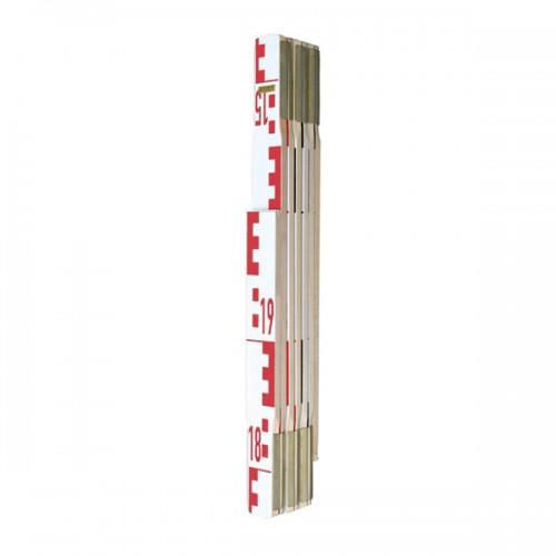 Skladacia nivelačná lata - 2 m